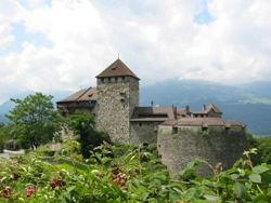 Burg in Vaduz, Liechtenstein